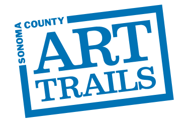 Art Trails logo for back of card